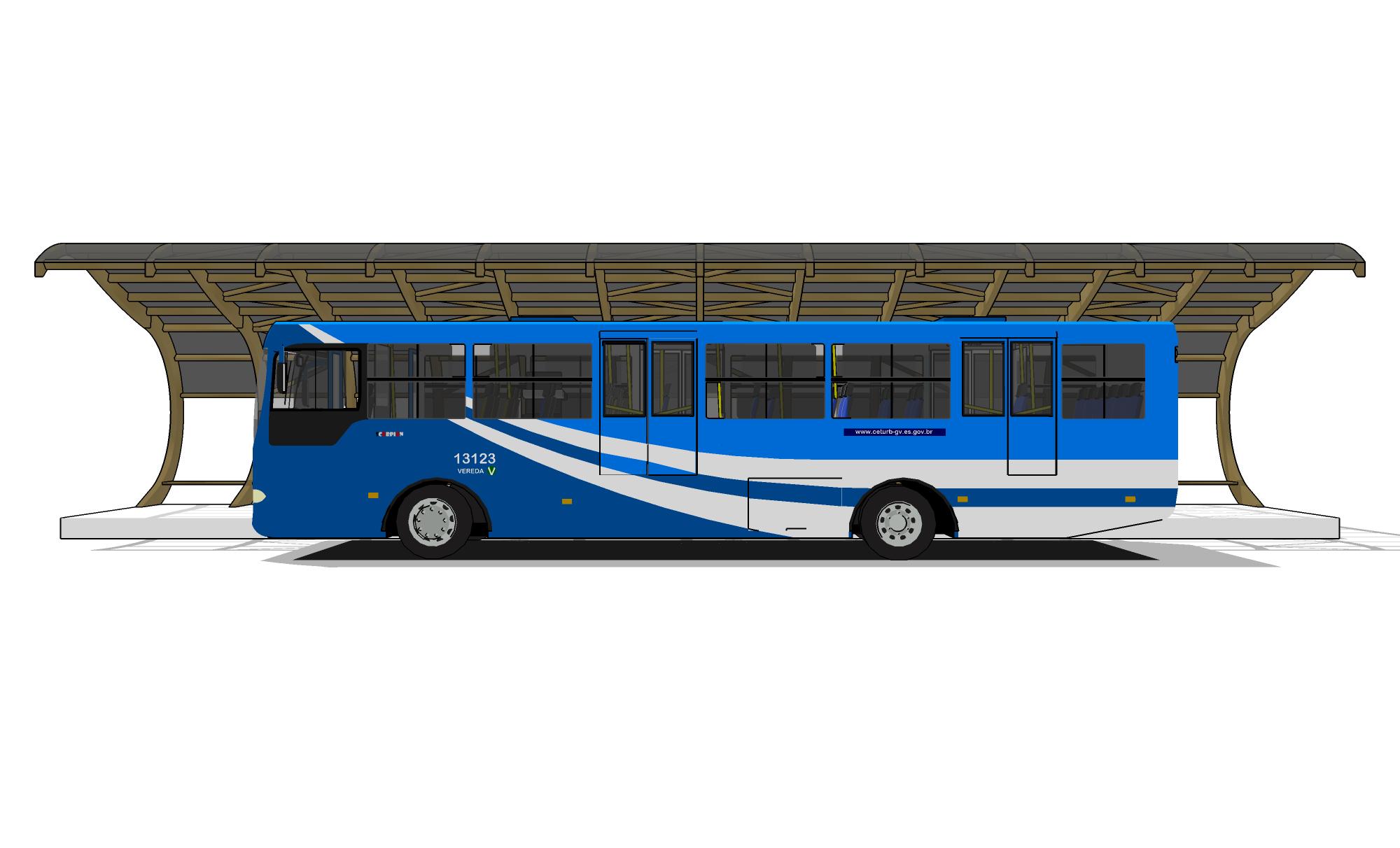Ponto de ônibus 2