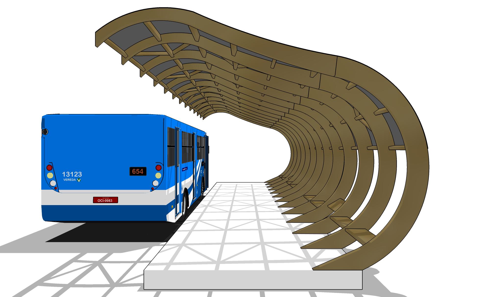 Ponto de ônibus 3